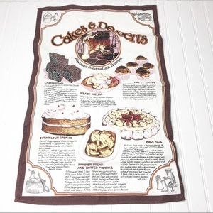 💖 Cakes & Desserts Australian Wall Hanging
